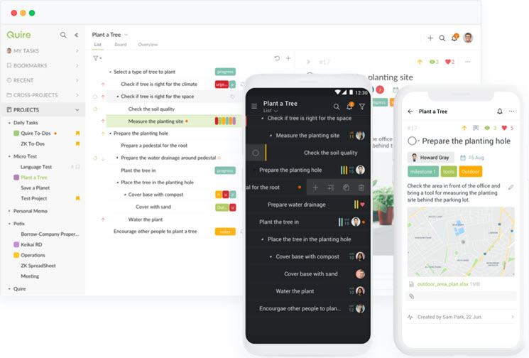 Quire-task management software