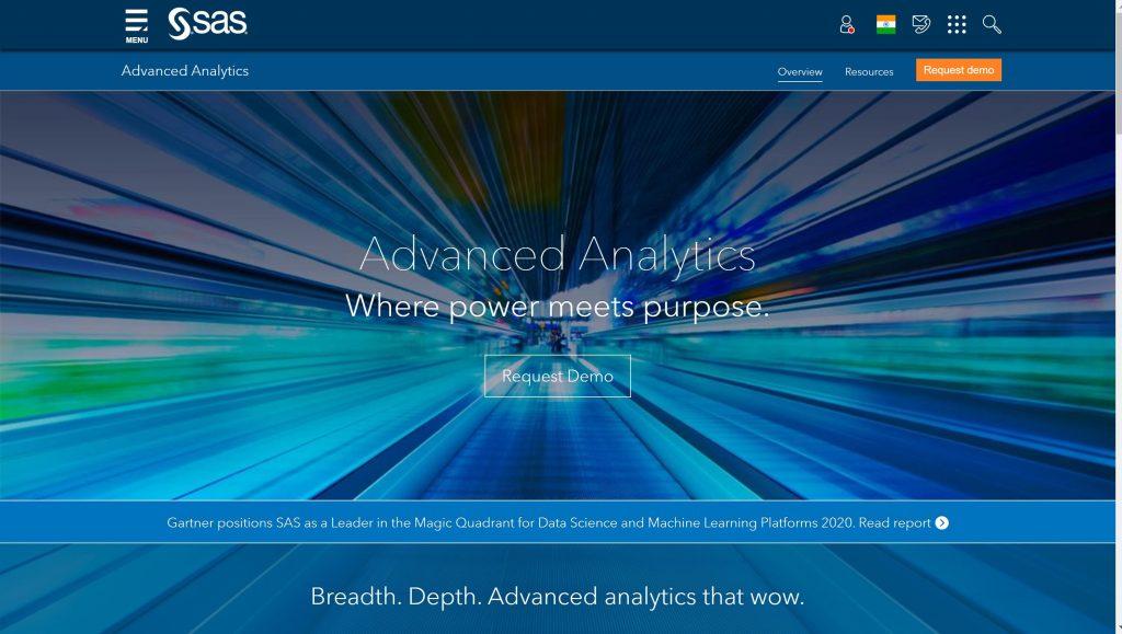 SAS India- Predictive modeling software