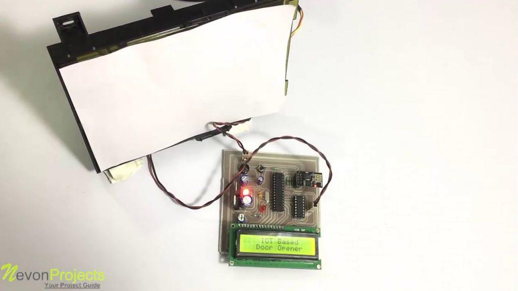 iOT based door opener- Best IoT projects