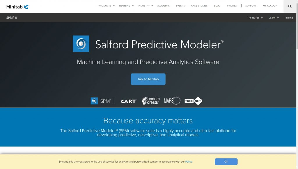 minitab- predictove modeler software
