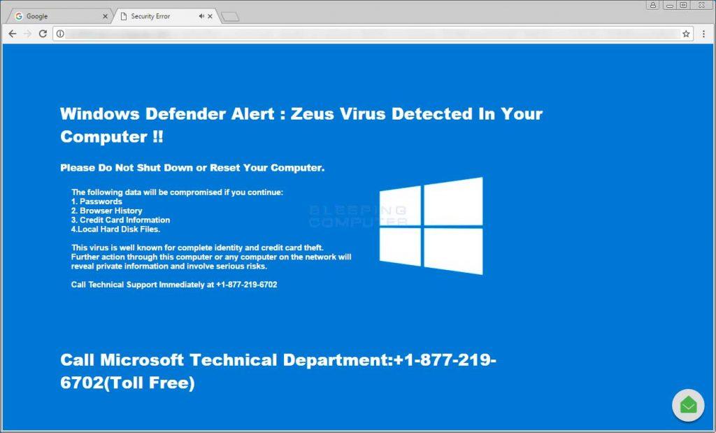 Windows Defender- Win32:bogent