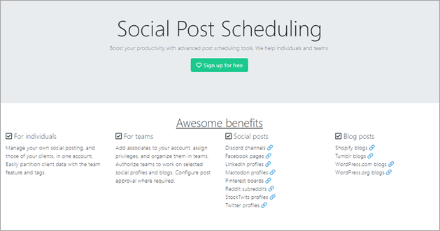 social oomph- hootsuite alternatives