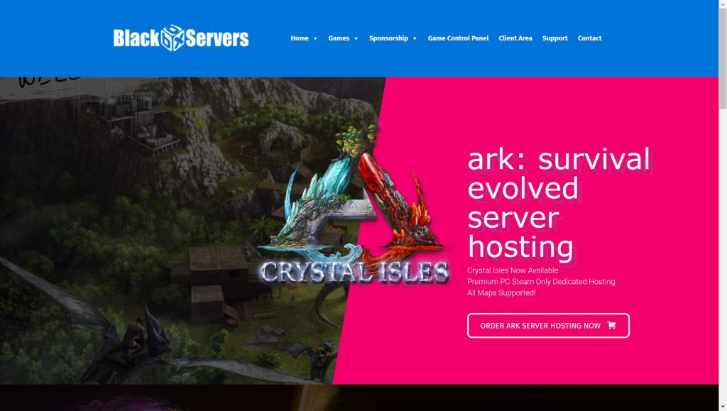 ARk Survival evoled hosting