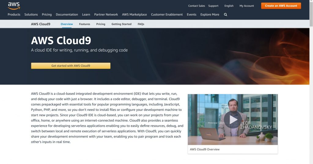 AWS Cloud9- Best IDE for programmers