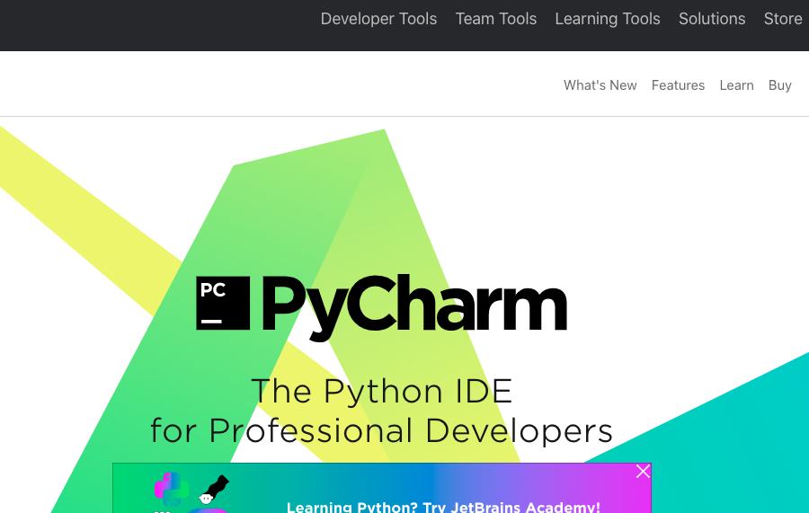 PyCharm Python IDE