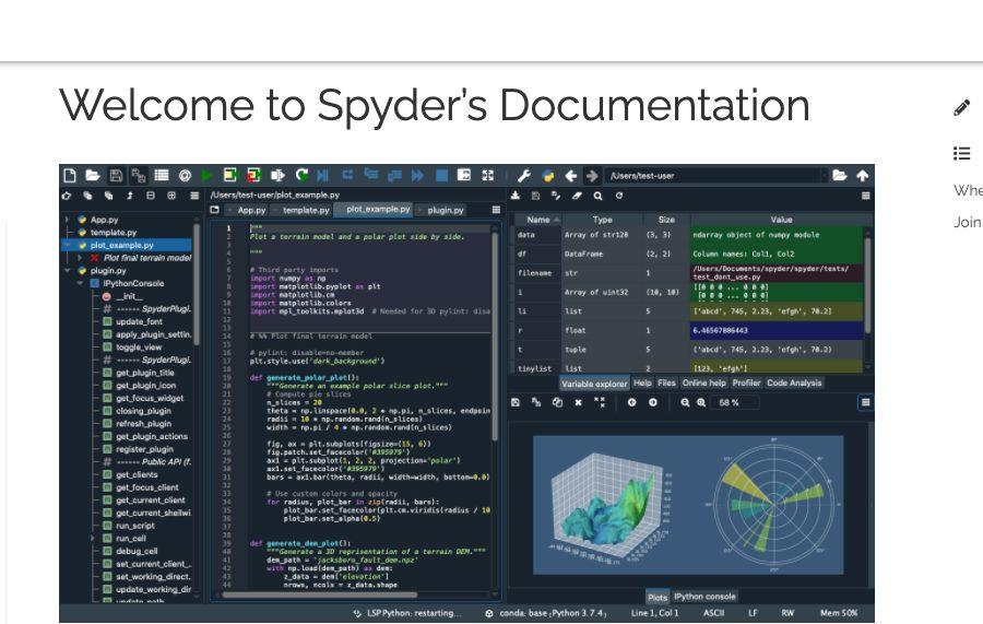 Spyder Python IDE