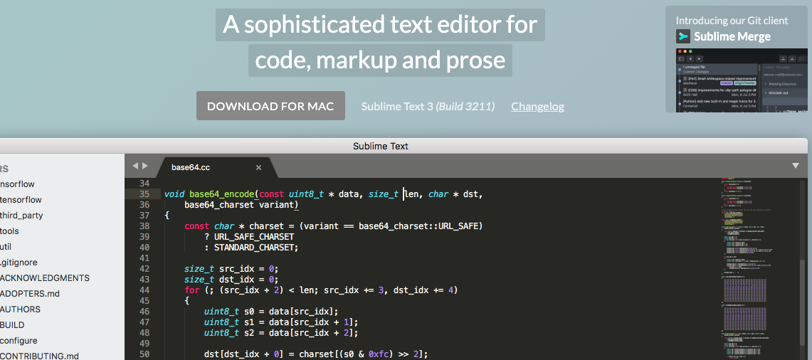 Sublime Text online code editor