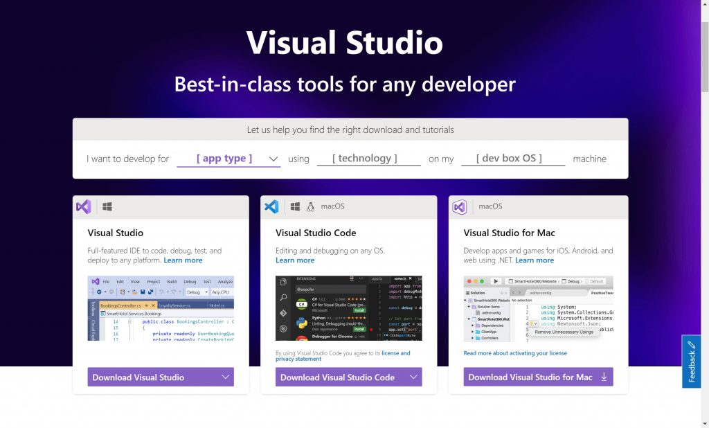Visual Studio- IDE for Programmers