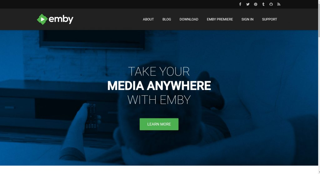 Emby streaming platforms