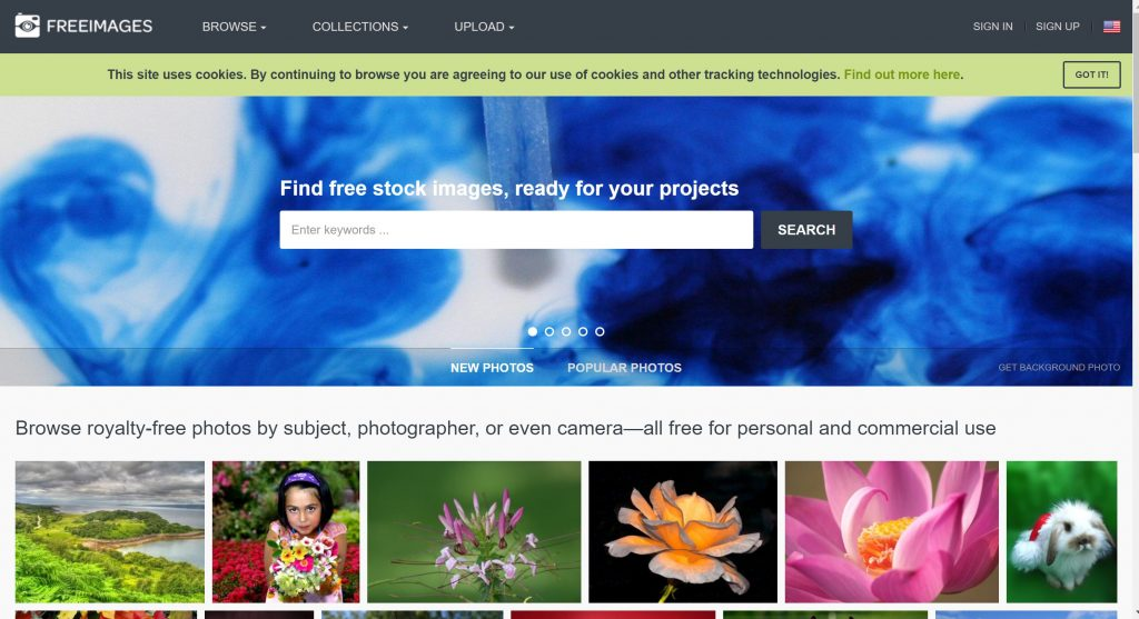 FreeImages for royalty free images- Shutterstock alternatives