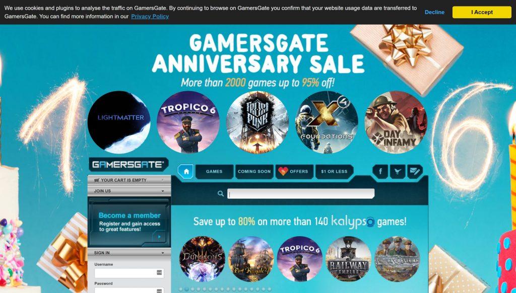 Gamersgate steam altrenatives