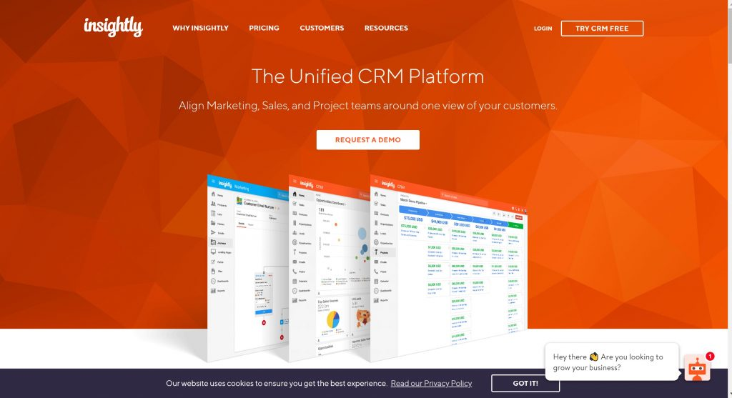 Insightly CRM for small business