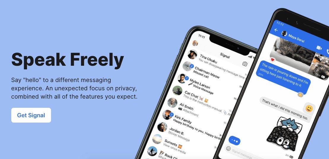 signal- Whatsapp alternative