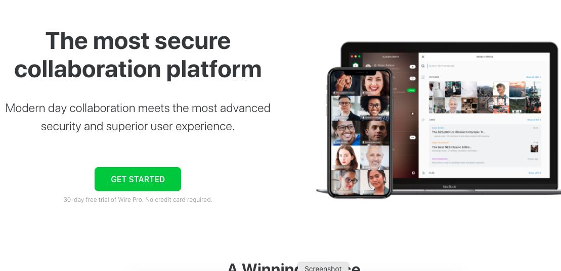 wire - whatsapp alternative