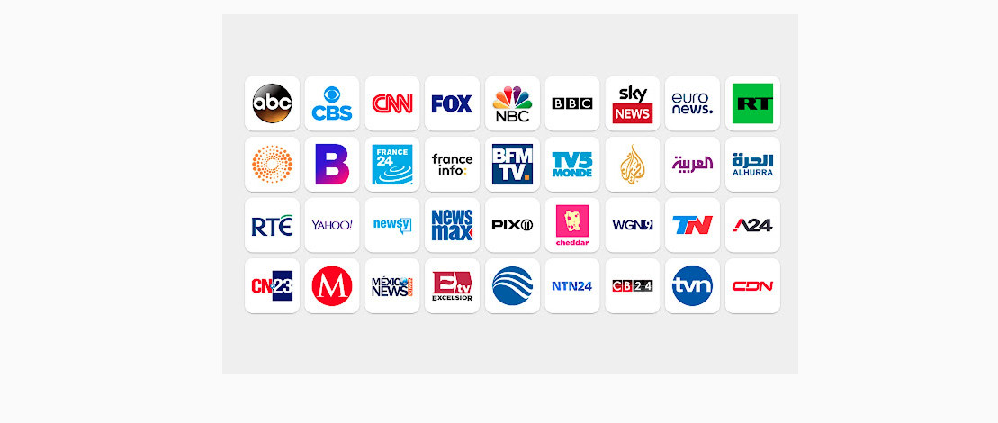 add free live TV channels