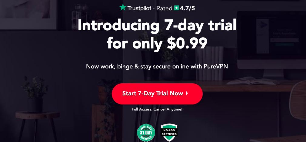 purevpn - NordVPN Alternatives