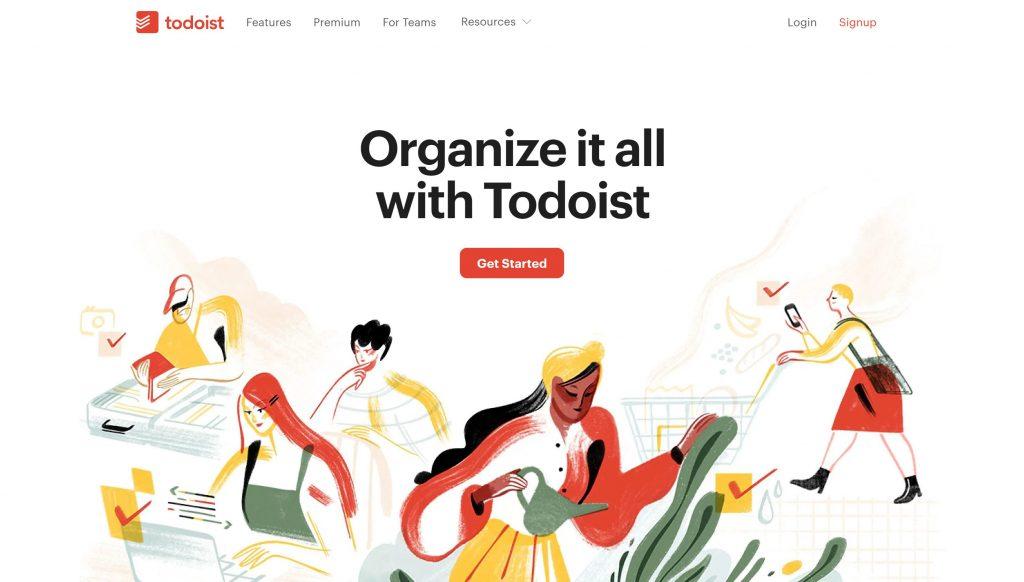 Todoist- evernot alternatives