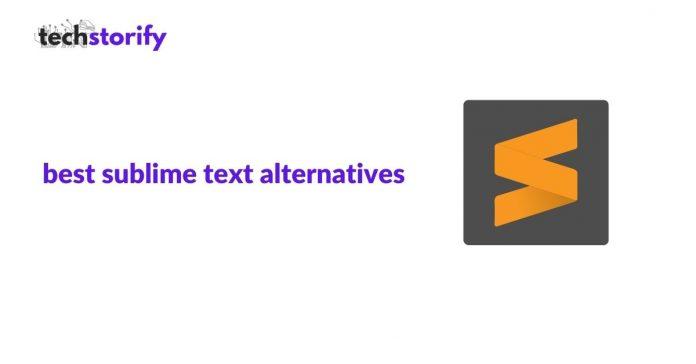sublime text alternatives