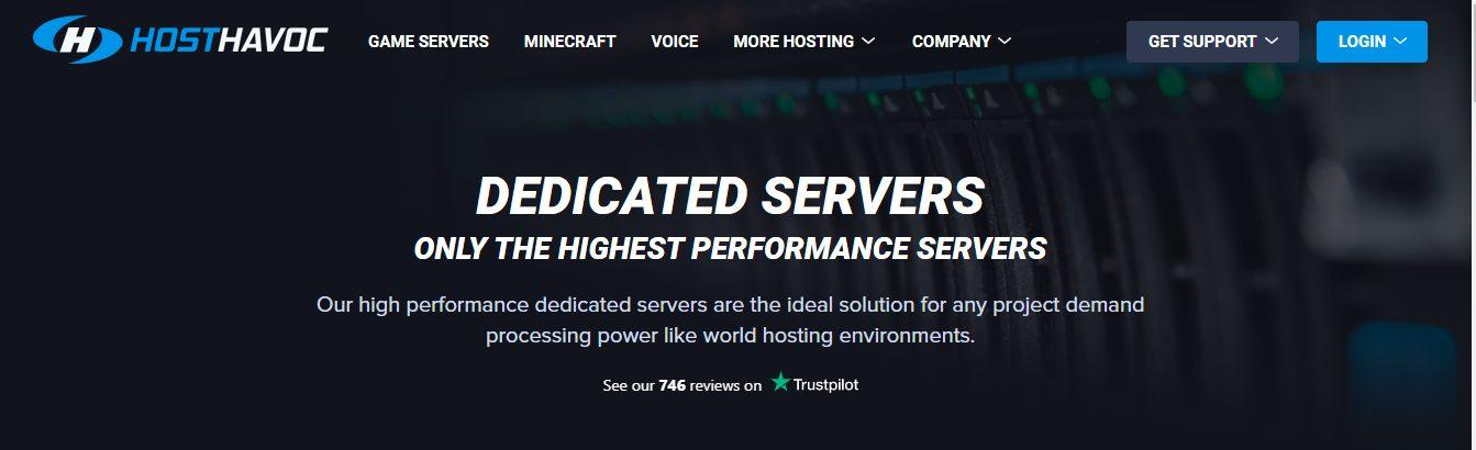 Hosthavoc - Terraria server hosting