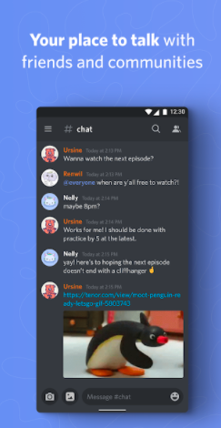 Discord: apps like clubhouse