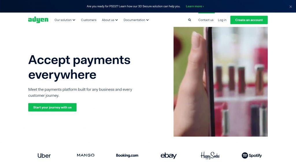 Adyen payment processors