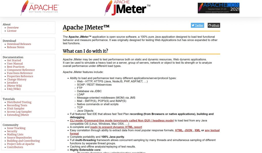 ApacheJMeter- best software testing tools