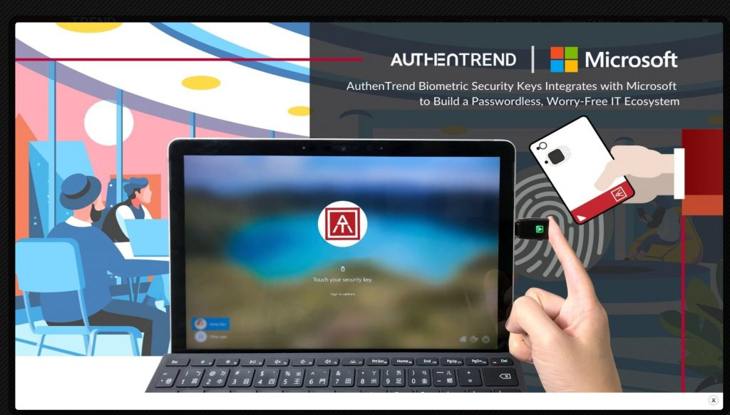 AuthenTrend- passwordless authentication software