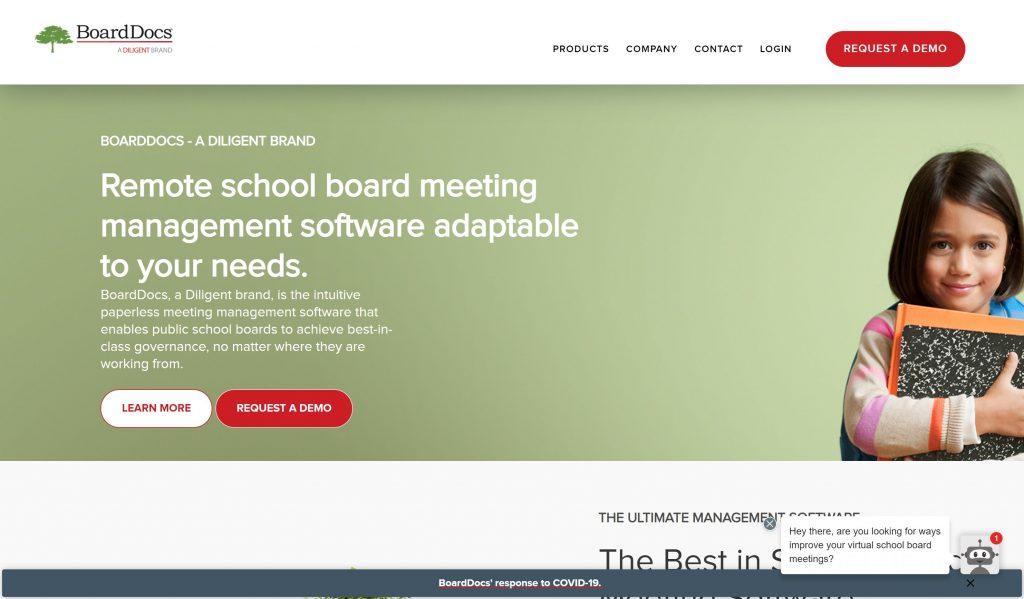 BoardDocs- Best board management software