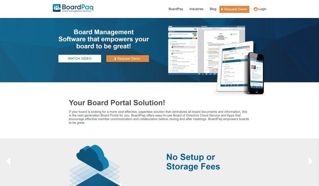 Boardpaq managemt sofwtare