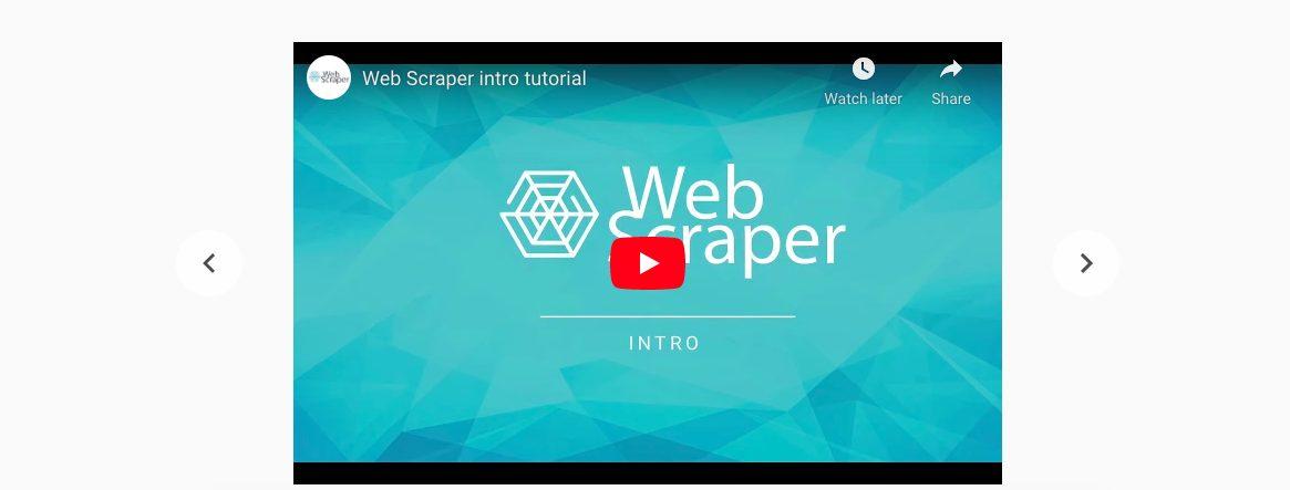 web scrapper tool