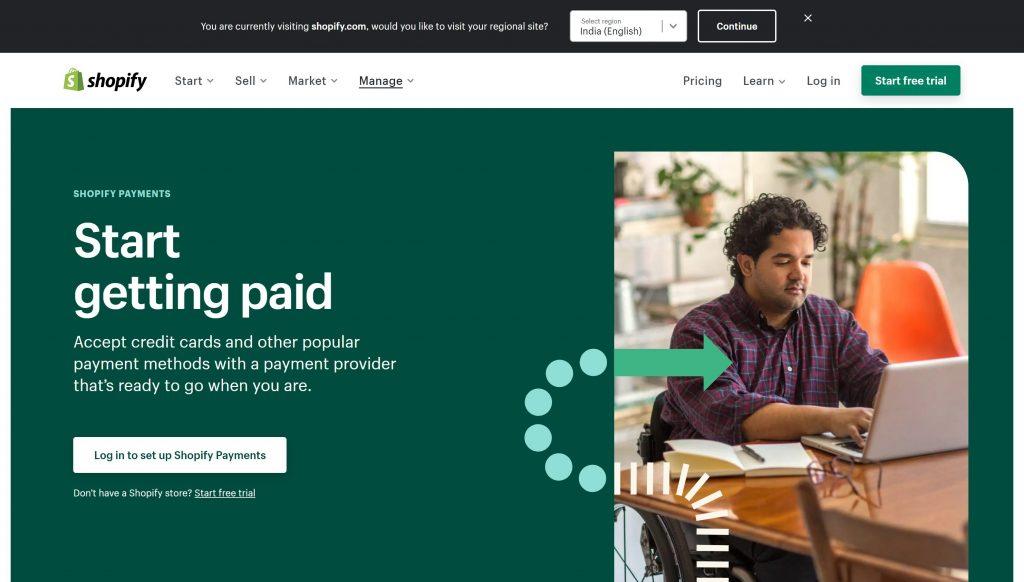 Shopify payments- best stripe alternatives