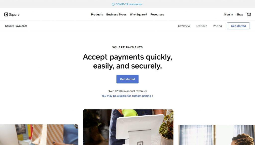 Square payment gateway- best stripe alternatives