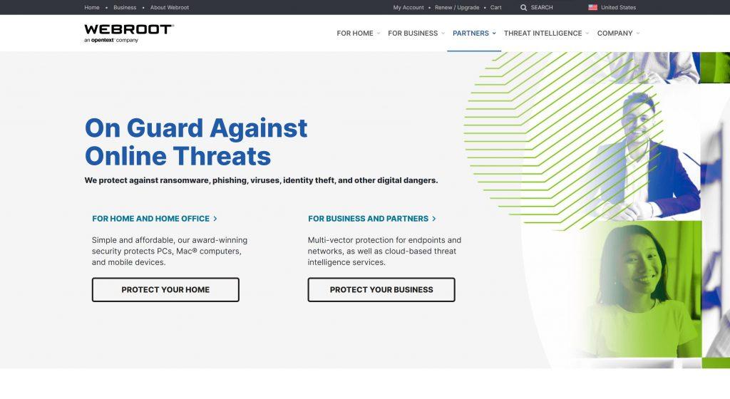 WebRoot- best DNS Filterig