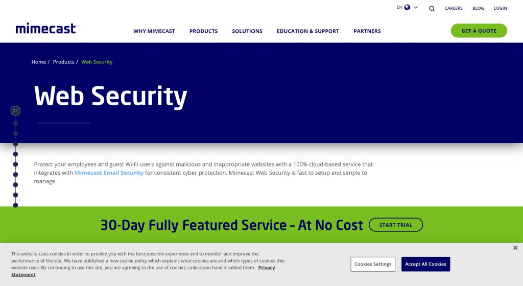 WebSecurity- best DNS Filtering tool