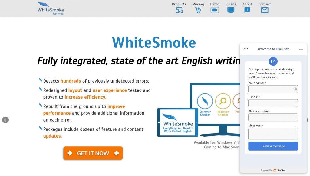 Whitesmoke checker- grammarly alternatives
