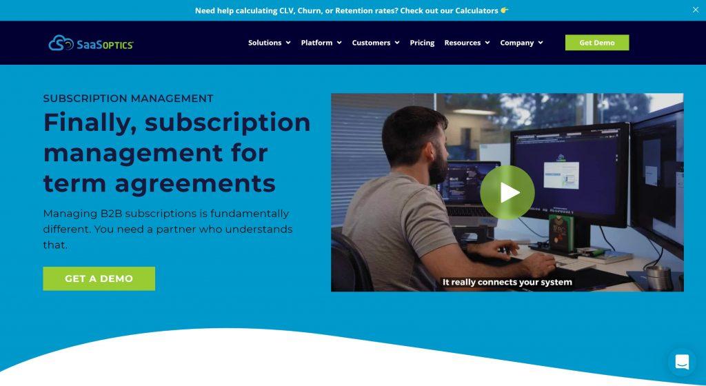 saasoptics- best subscription software