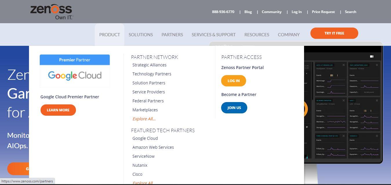 Zenoss : Full-stack Monitoring Solutions