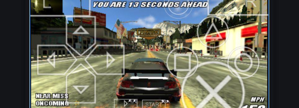 Burnout Legends : PSP games