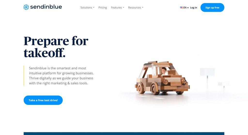 SendinBlue- best lead software
