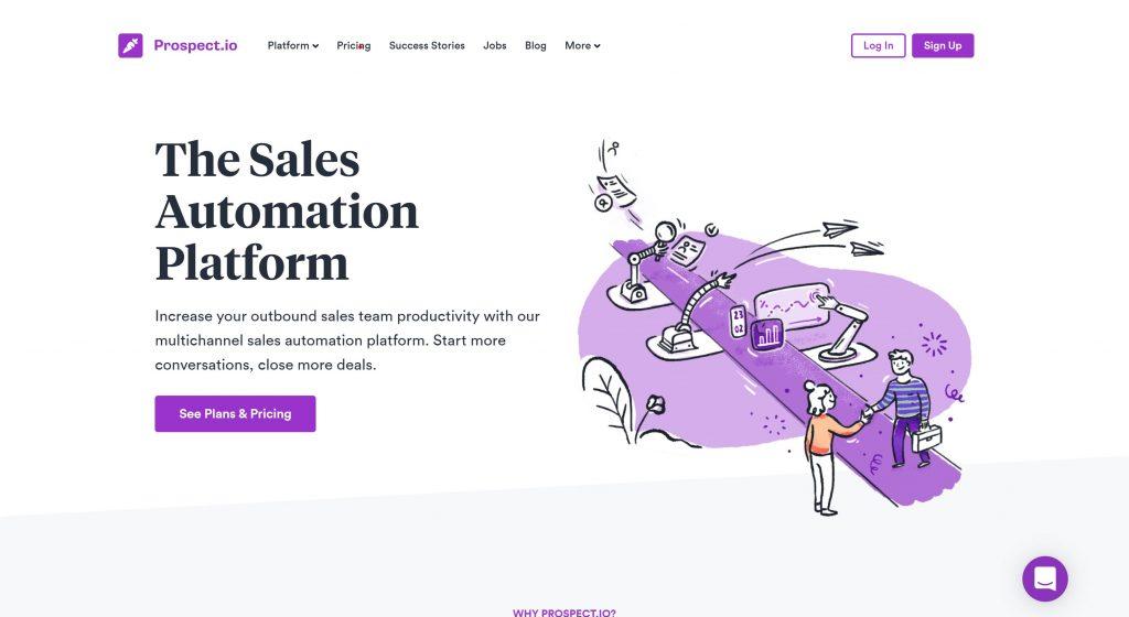 prospect.io- best sales automation