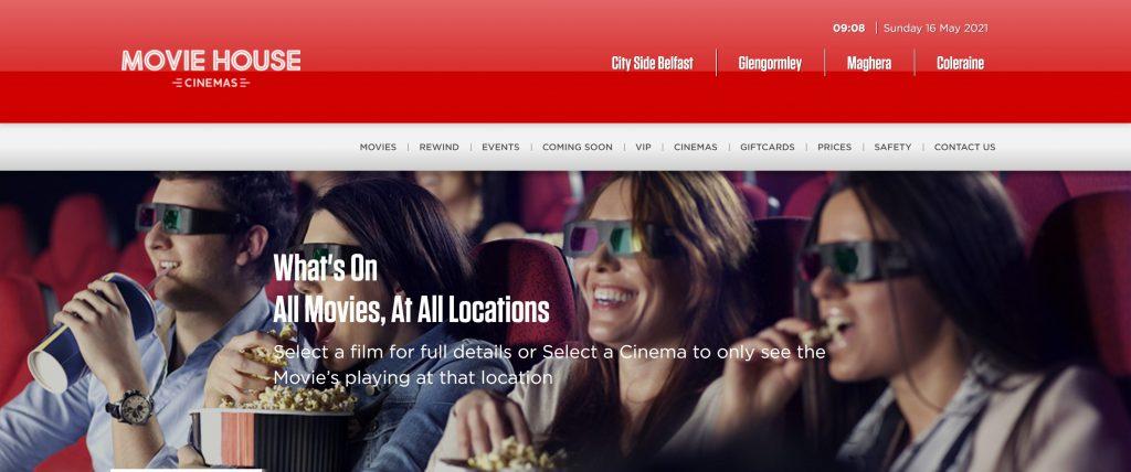 Movie house cinemas- niter alternatives