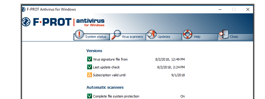 F-Prot Antivirus