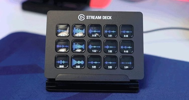 Twitch Sound Board Interface