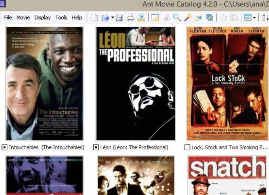 Ant movie catalog Movie Organizer Software