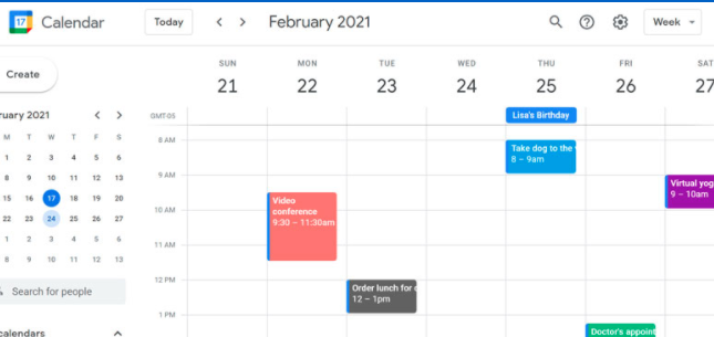 Google Calendar Daily Planner Apps