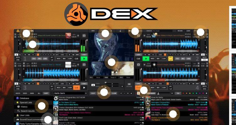 DEX free dubstep softwares