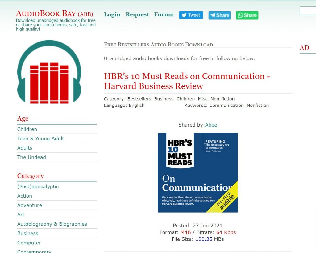 AudiobookBay software