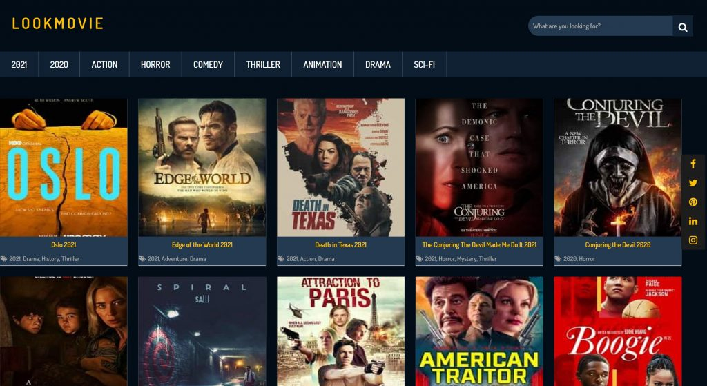 Lookmovie site for watching movies