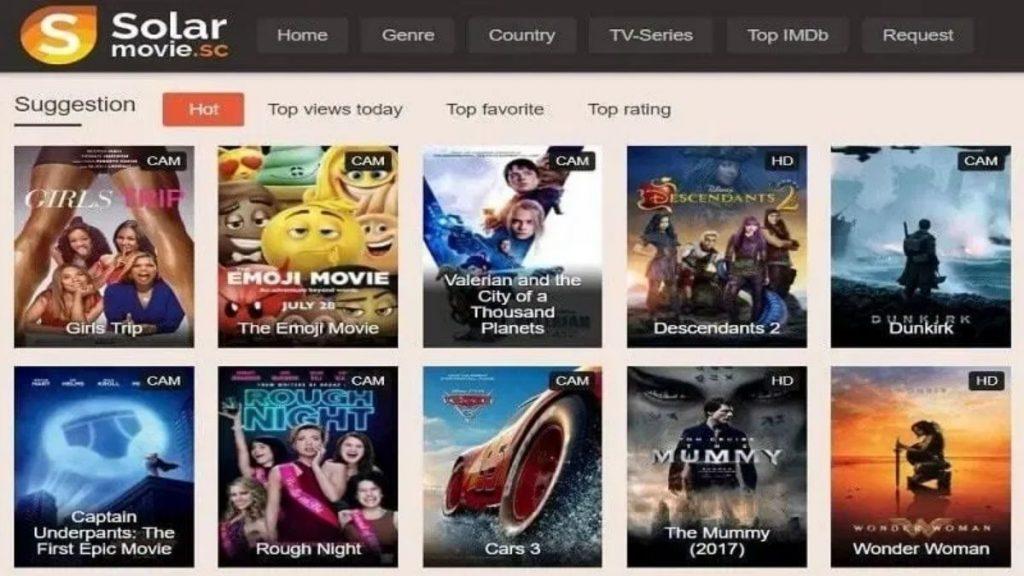 Solarmovies for watching latest movies- LosMovies alternatives