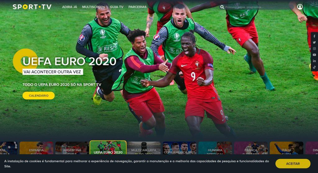 SportTV Uefa euro for Portugal